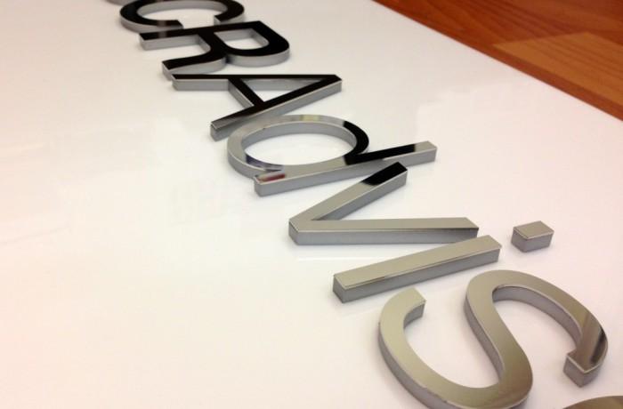 3d lettering Signage Sydney