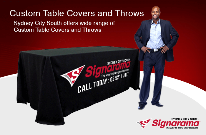 Custom Table Covers and Throws Sydney